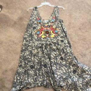 Ivy Jane embroidered print dress